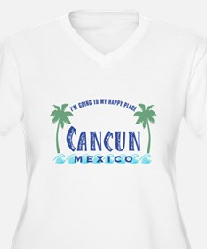 Cancun Happy Place - T-Shirt