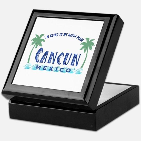 Cancun Happy Place - Keepsake Box
