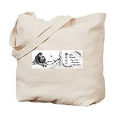 The Monkey Tote Bag