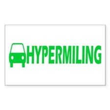Hypermiling Rectangle Decal