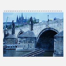 Charles Bridge Wall Calendar
