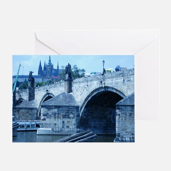 Charles Bridge Greeting Card
