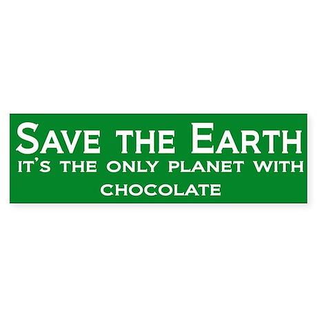 Save the Earth Bumper Sticker