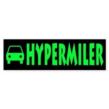 Hypermiler Bumper Car Sticker