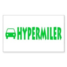 Hypermiler Rectangle Decal