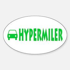 Hypermiler Oval Decal