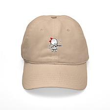 Girl & Marching Rifle Baseball Cap
