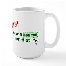 coupon shirt2 Mugs