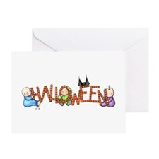 Halloween Babies Greeting Card