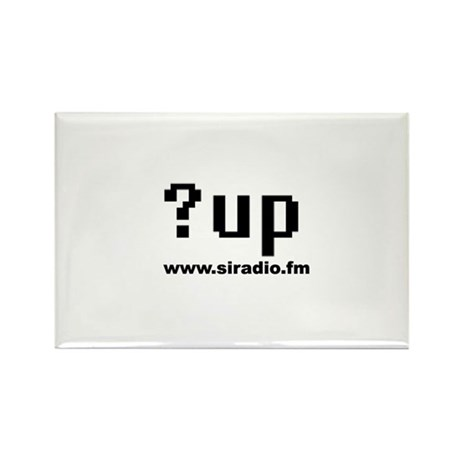 ?up Rectangle Magnet