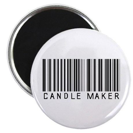 """Candle Maker Barcode 2.25"""" Magnet (10 pack)"""