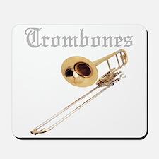 Joe's Trombones Mousepad