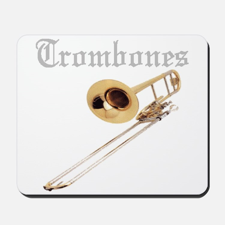 Joe's Trombones Mousepad