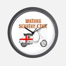 WOLVES SCOOTER CLUB Wall Clock