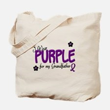 I Wear Purple For My Grandfather 14 Tote Bag
