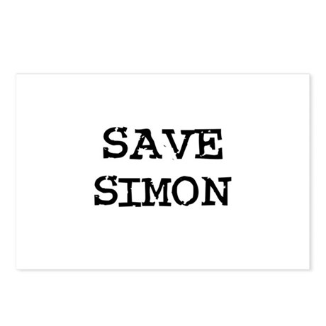 Save Simon Postcards (Package of 8)
