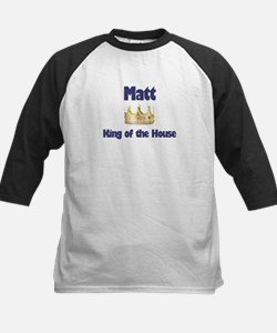 Matt - King of the House Kids Baseball Jersey