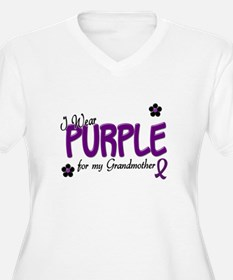 I Wear Purple For My Grandmother 14 T-Shirt