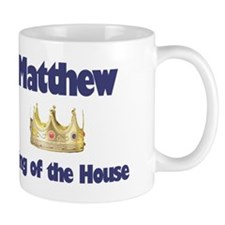 Matthew - King of the House Mug