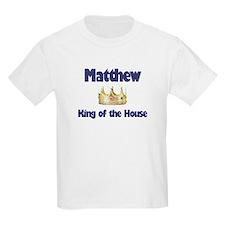 Matthew - King of the House T-Shirt