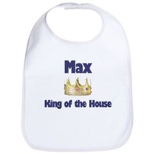 Max - King of the House Bib