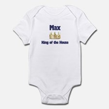Max - King of the House Infant Bodysuit