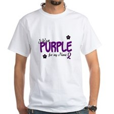 I Wear Purple For My Nana 14 Shirt