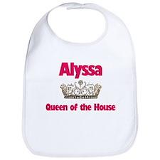 Alyssa - Queen of the House Bib