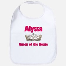 Alyssa - Queen of the House Bib