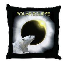 Polar Eclipse Throw Pillow