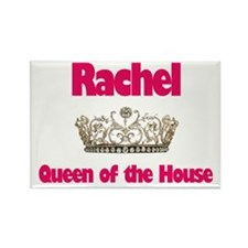 Rachel - Queen of the House Rectangle Magnet