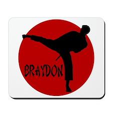 Braydon Martial Arts Mousepad