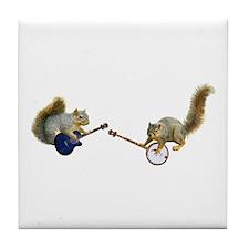 Squirrel Jam Tile Coaster