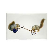 Squirrel Jam Rectangle Magnet