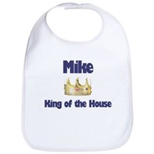 Mike - King of the House Bib