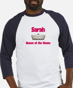 Sarah - Queen of the House Baseball Jersey