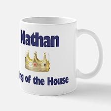 Nathan - King of the House Mug