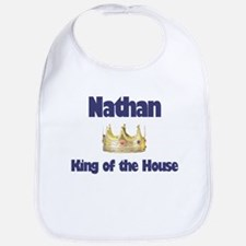 Nathan - King of the House Bib