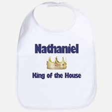 Nathaniel - King of the House Bib
