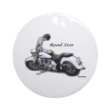 Road Star Ornament (Round)