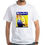 Rosie the Riveter White T-Shirt