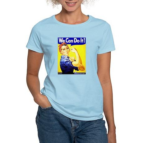 Rosie the Riveter Women's Light T-Shirt