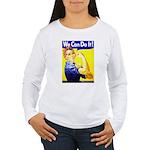 Rosie the Riveter Women's Long Sleeve T-Shirt