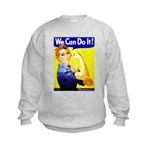 Rosie the Riveter Kids Sweatshirt