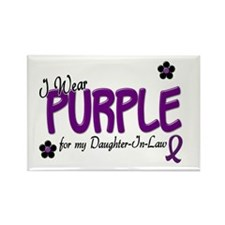 I Wear Purple For My Daughter-In-Law 14 Rectangle