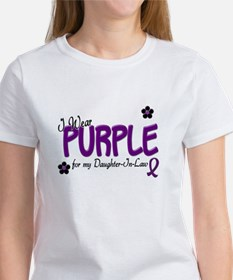 I Wear Purple For My Daughter-In-Law 14 Tee
