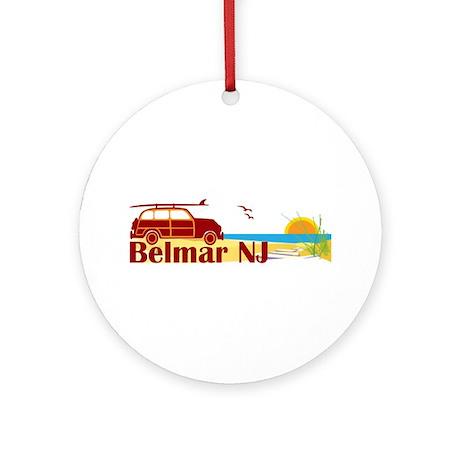 Belmar NJ Ornament (Round)