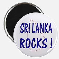 Sri Lanka Rocks ! Magnet