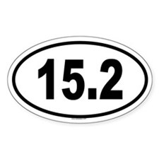 15.2 Oval Decal