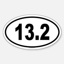 13.2 Oval Decal